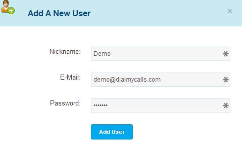 DialMyCalls - Access Control