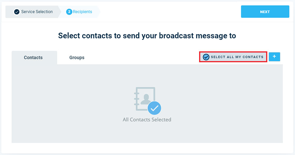 Add All Contacts To Broadcast - Version 3