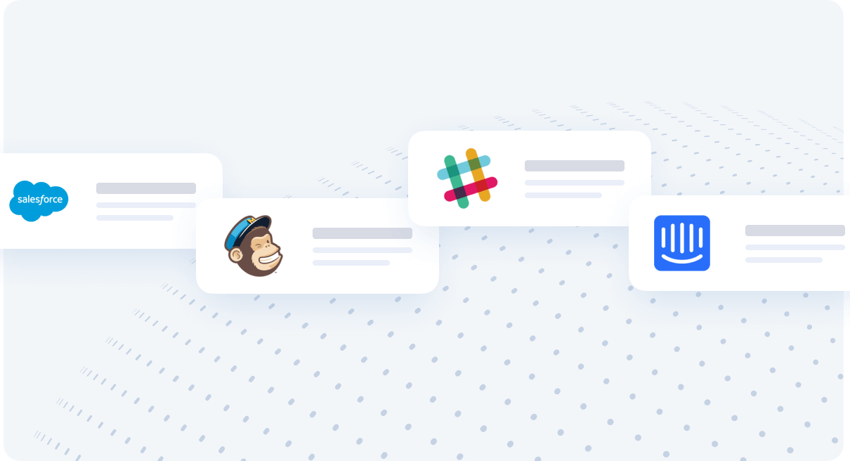 Salesforce, Mailchimp, Slack API Integration